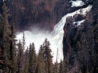 Yellowstone Falls photo by Jana Mason